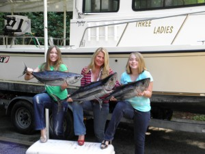 Washington tuna charter Chicks