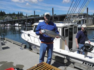 Gig Harbor Salmon Fishing